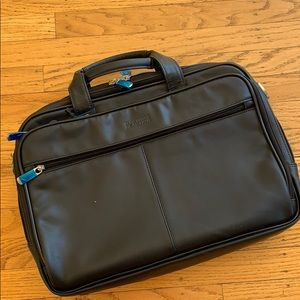 Work bag/ laptop bag faux leather by Kenneth Cole